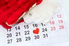 De maandelijkse fysiologie van de menstruele cyclus vrouwelijke kalender royalty-vrije stock afbeeldingen