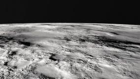 De maanoppervlakte Royalty-vrije Stock Foto's