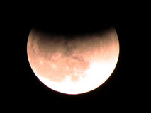 Of de maanverduistering December 2011 van Yehuda Stock Afbeelding