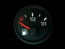De maat van de brandstof stock foto