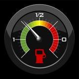 De maat van de brandstof stock illustratie