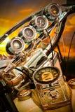 De Maat van de motorfiets royalty-vrije stock afbeeldingen