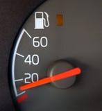 De Maat van het gas stock afbeeldingen