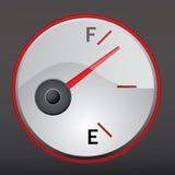 De maat van het gas Stock Fotografie