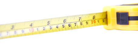 De maatregel van de lengte Stock Fotografie
