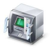De machine van ATM stock illustratie