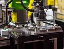 De Machine van de automatiseringsassemblage Stock Afbeelding