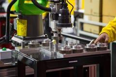 De Machine van de automatiseringsassemblage stock fotografie