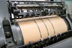 De machine van de druk Royalty-vrije Stock Fotografie