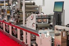 De machine van de druk royalty-vrije stock foto