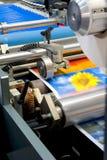 De machine van de druk Stock Foto