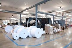 De machine van de druk: digitale Webpers stock afbeelding