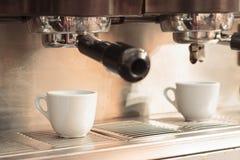 De machine van de espresso Stock Afbeeldingen