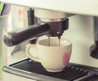De machine van de espresso Royalty-vrije Stock Afbeelding