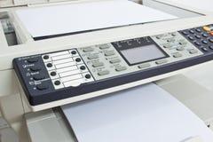 De machine van de fotokopie stock foto
