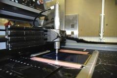 De Machine van de gravure Stock Foto's