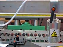 De machine van de houtbewerking Stock Foto's