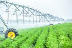 de machine van de landbouwirrigatie stock afbeeldingen