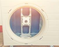De machine van de luchtcompressor Royalty-vrije Stock Afbeeldingen