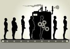 De Machine van de transformatie stock illustratie