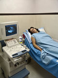 De machine van de ultrasone klank Stock Foto's