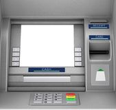 De Machine van het bankcontante geld ATM het 3d teruggeven Royalty-vrije Stock Foto