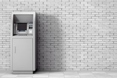 De Machine van het bankcontante geld ATM het 3d teruggeven Royalty-vrije Stock Fotografie