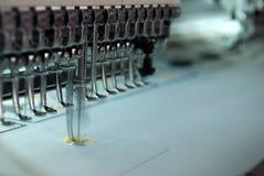 De machine van het borduurwerk Stock Afbeelding