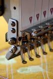 De machine van het borduurwerk royalty-vrije stock afbeeldingen