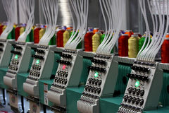 De machine van het borduurwerk royalty-vrije stock afbeelding