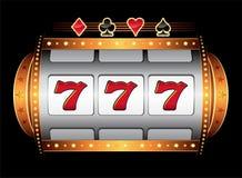 De machine van het casino Stock Afbeelding