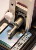 De machine van het de ruwheidsmeetapparaat van de kaliberbepalingsoppervlakte met pandblok Royalty-vrije Stock Fotografie