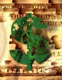 De Machine van het geld Stock Afbeelding