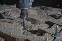 De machine van het houtbewerkingsmalen Royalty-vrije Stock Afbeelding