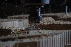 De machine van het houtbewerkingsmalen Royalty-vrije Stock Fotografie