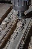 De machine van het houtbewerkingsmalen Royalty-vrije Stock Foto