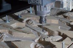 De machine van het houtbewerkingsmalen Royalty-vrije Stock Afbeeldingen