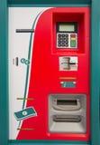 De machine van het kaartje royalty-vrije stock foto