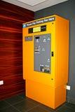 De Machine van het Kaartje van het parkeren Royalty-vrije Stock Foto