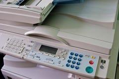 De machine van het kopieerapparaat Stock Foto