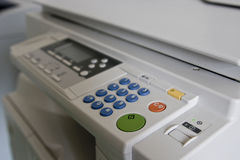 De machine van het kopieerapparaat. Royalty-vrije Stock Foto's