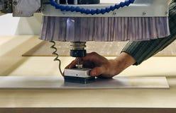 De machine van het malen en van de gravure Royalty-vrije Stock Afbeeldingen