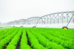 de machine van de landbouwirrigatie stock afbeelding