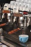 De Machine van Lattee Royalty-vrije Stock Afbeeldingen
