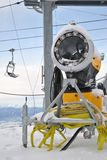 De machine van Snowmaking Stock Afbeelding