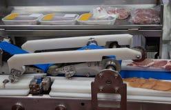 De machine van de vleessnijmachine royalty-vrije stock fotografie