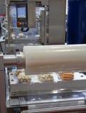 De machine van de voedselverpakking royalty-vrije stock afbeeldingen