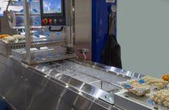 De machine van de voedselverpakking stock fotografie