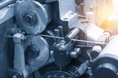 De machine voor speld productie stock foto's