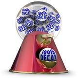 De Machineautomaat Sugar Junk Food Teeth Cavi van Gumball van het tandbederf Royalty-vrije Stock Foto